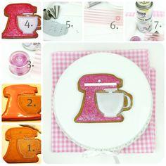 Raspberry Ice KitchenAid Mixer Cookie Decorating Tutorial, From Sweetopia