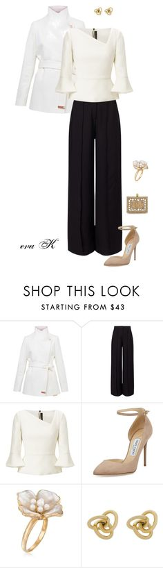 """Office Holiday Party"" by eva-kouliaridou ❤ liked on Polyvore featuring Ted Baker, Miss Selfridge, Roland Mouret, Jimmy Choo, Dolce&Gabbana, Ross-Simons and Oroton"