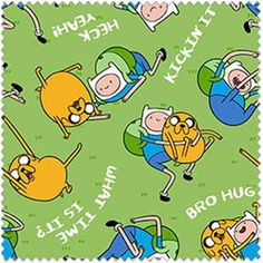 Mary Jo's Cloth Store - Fabrics - Jake and Finn - Sayings (Springs)