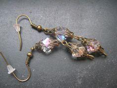 Funkel- Ohrringe von Elbengard auf DaWanda.com