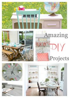 A fabulous collection of DIY Projects! *Note* As of 7/10/15 website was not in operation. Will check another day and update