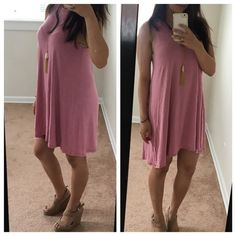•Reserved Listing• Dusty Rose dress (S) Dresses