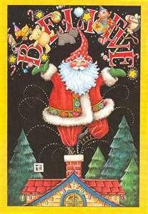 Mary Englebreit Santa ~ my favorite!