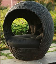 Genial It Would Be Like My Own Little Nest! Outdoor Wicker ChairsOutdoor ...