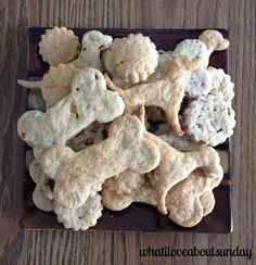 Doggies Need Christmas Cookies Too! 4 Ingredient Dog Treats