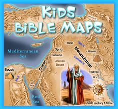 Welcome to Kid's Bible Maps