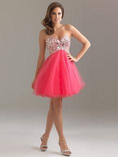 Absorbing 2013 A-line Best Selling Charming Sweetheart Rhinestone Sleeveless Short/Mini Tulle Dress