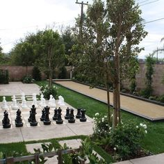 Bocce Ball Court Design Ideas, Pictures, Remodel, and Decor - page 23