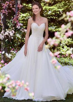 Courtesy of Rebecca Ingram Collection of Maggie Sottero Wedding Dresses; Wedding dress idea.