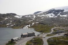 Coming back down to the base of Dalsnibba, Norway
