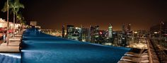 View from Marina Bay Sands SkyPark, Singapore