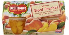 => Sensational bargains just a click away: Del Monte Diced Peaches in Light Syrup, 16-Ounce (Pack of 6) at Quick dinner ideas.