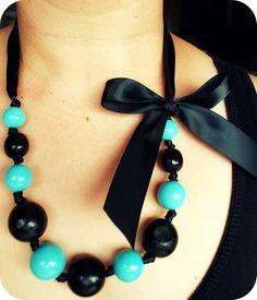 cute idea for a broken necklace