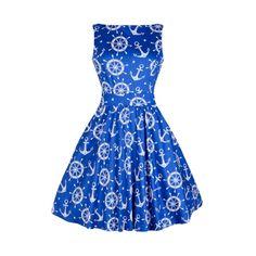 Modré námořnické šaty Lady V London Tea 969eb6ae62