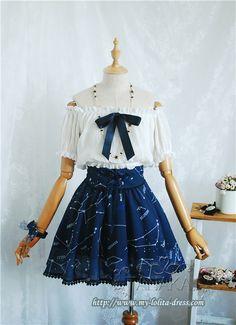 Angelic Pretty Cosmic Lolita Salopette: Size M: Price $41.99