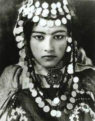 Tunisian Berber girl.