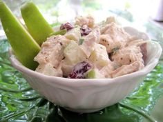Inspired by the classic Waldorf salad, this low-fat version features chunks of white-meat chicken and sweet-tangy Granny Smith apples. From Cooking Light.