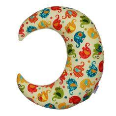 Poduszka w kształcie księżyca to świetna dekoracja dziecięcego pokoju, a także przyjemna poduszeczka do przytulania. Ze względu na bogatą kolorystykę, wielkość oraz puszystość zainteresuje zarówno... Diy Home Crafts, Pillows, Etsy, Decor, Decoration, Diy Crafts, Cushions, Decorating, Diy Home Supplies