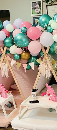 Birthday Party Rentals, Sleepover Birthday Parties, 12th Birthday, 1st Birthday Girls, Happy Birthday, Kids Party Hire, 1st Birthday Girl Decorations, Teepee Party, Dream Party