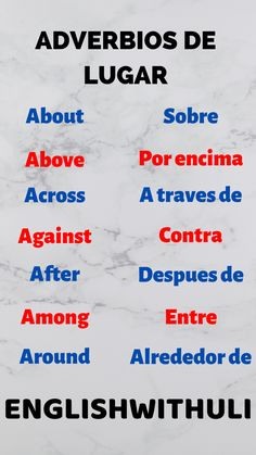 English Help, Spanish English, English Tips, Learn English Words, Teaching English Grammar, English Writing Skills, Spanish Language Learning, English Vocabulary Words, English Phrases