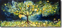 Lemon Tree by Eli Halpin - Canvas Print by Eli Halpin Oil Paintings