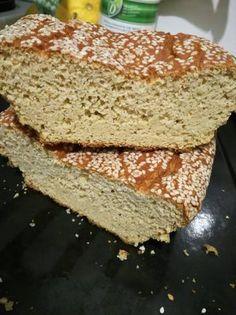 Pan de harina de garbanzos Gluten Free Baking, Vegan Gluten Free, Gluten Free Recipes, Bread Recipes, Vegan Recipes, Biscuit Bread, Healthy Recepies, Going Vegan, Banana Bread