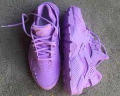1df83ce6db2d Lavender Nike Huarache Custom Nike Huarache Mujer