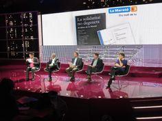 DeuvedeMusic en la presentació del nou disc de #LaMarató2013 #TV3  www.deuvedemusic.com