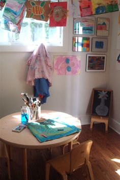 Art room // A place just for them