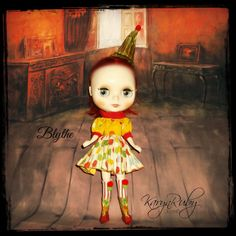 Blythe ~ Circus Inspired ~ 4 Piece Outfit which Includes Boots  ~  by KarynRuby