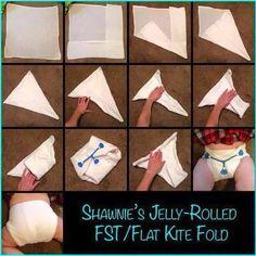 Shawnie's Jelly-Rolled FST / Flat Kite Fold