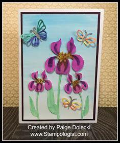 Paige Dolecki - Stampologist: Watercolor Blog Hop