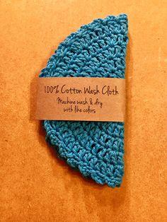 A personal favorite from my Etsy shop https://www.etsy.com/listing/513999259/crochet-washcloth-crocheted-washcloth