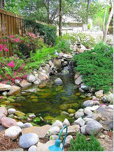 backyard pond ideas - Google Search This would be good for when Hayden's turtles get to big for the tank!!