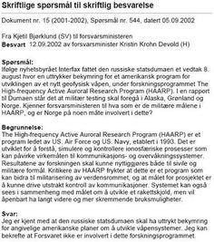 H.A.A.R.P / EISCAT | A New World Order