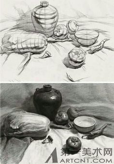 Still Life Sketch, Still Life Drawing, Still Life Art, Value Drawing, Basic Drawing, Drawing Practice, Academic Drawing, Drawing Studies, Cool Drawings
