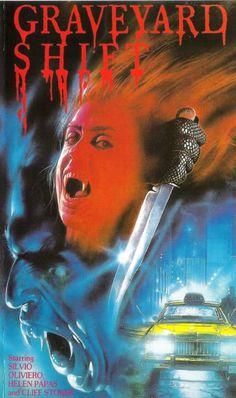 Graveyard Shift aka Central Park Drifter (1987) poster art