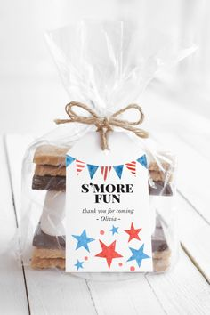 Editable Stars & Stripes Printable Favor Tags   Summer or 4th of July Party   Instant Download Editable PDF   Shower, Birthday or Party Baby Shower Invitations, Party Invitations, Note Cards, Thank You Cards, Blue Sweets, Red White And Boom, Note Fonts, Hot Dog Bar, White Baby Showers
