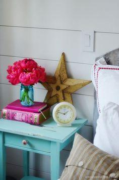 Ikea Hemnes nightstand make-over. Love it... so Shabby Chic!