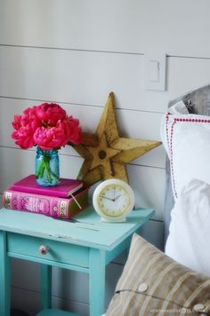 Ikea Hemnes nightstand make-over