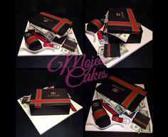 Gucci sander box cake all edible