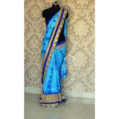 Noticeable Blue Color Art Silk Party wear & Designer Saree at just Rs.1650/- on www.vendorvilla.com. Cash on Delivery, Easy Returns, Lowest Price.
