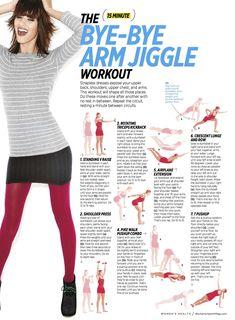 Get rid of Arm Jiggle -15 min arm sculpting