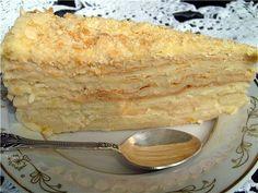 """Торт """"Наполеон"""" (5 лучших рецептов)фамильный рецепт крема наполеон"""