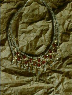#collier #diamants #rubis #vancleefandharpels