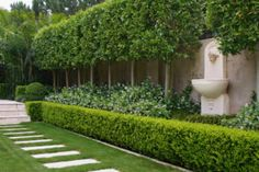 A landscape garden plan is only a starting point. Here you might like to check out some of our city garden design examples to get some inspiration. Formal Garden Design, Backyard Garden Design, Small Backyard Landscaping, Garden Landscape Design, Garden Hedges, Topiary Garden, Formal Gardens, Outdoor Gardens, Pergola