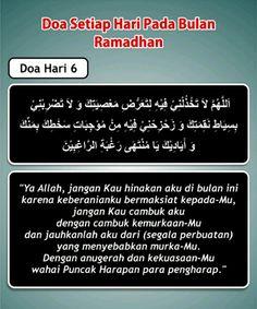 Doa hari 6 Ramadhan Dua For Ramadan, Self Reminder, Islamic Inspirational Quotes, Doa, Quran, Allah, Religion, Muslim, Projects