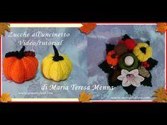 Zucca amigurumi di Halloween | Pumpkin SUB EN - YouTube