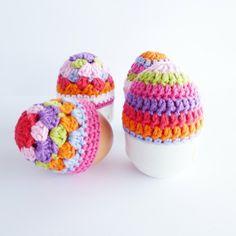 bunte-eierwärmer -ideen-häkeln-wunderschöne-kreative-häkeleien -häkeln-lernen-eierwärmer-häkeln