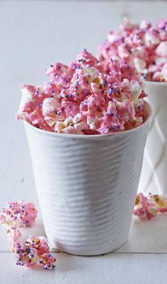 This Animal Cracker Popcorn is easy to make and a total crowd pleaser! From the Party Popcorn Cookbook, by Ashton Swank.